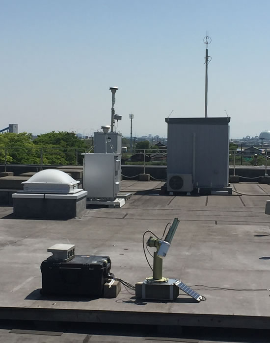 Monitoring Equipment on the Roof of ACAP